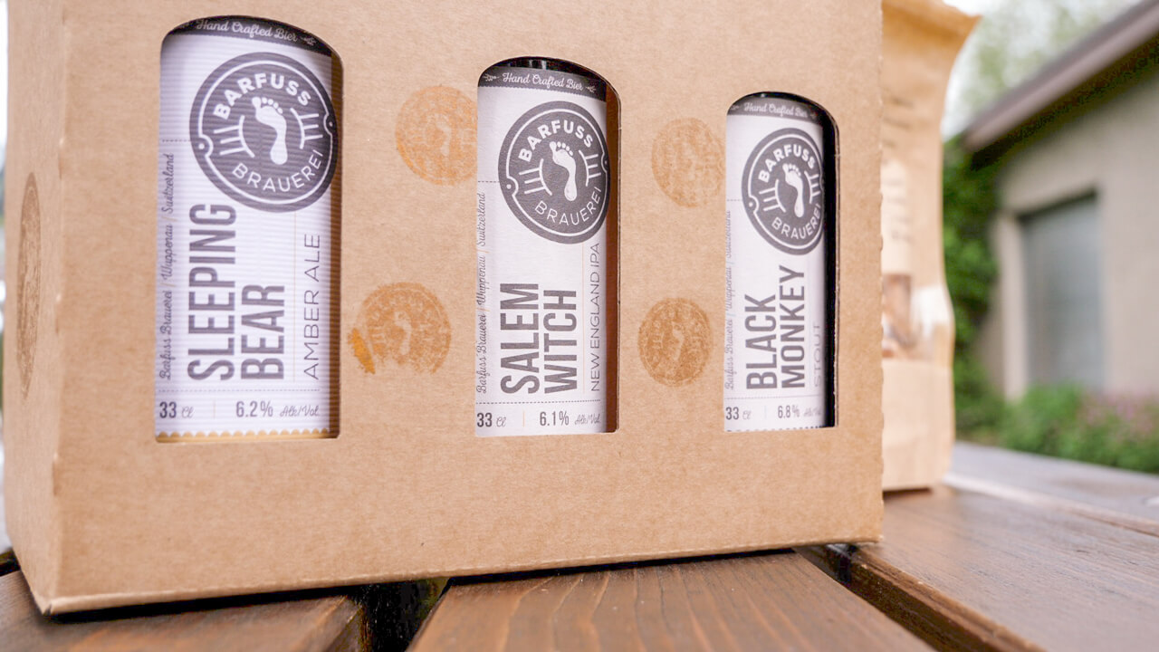 Barfuss Brauerei: Sortiment Craft Beer Schweiz Thurgau
