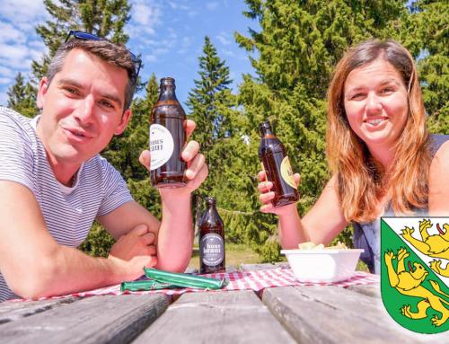 Tannzapfenland: Barfussweg, viel Bier und eine Königin