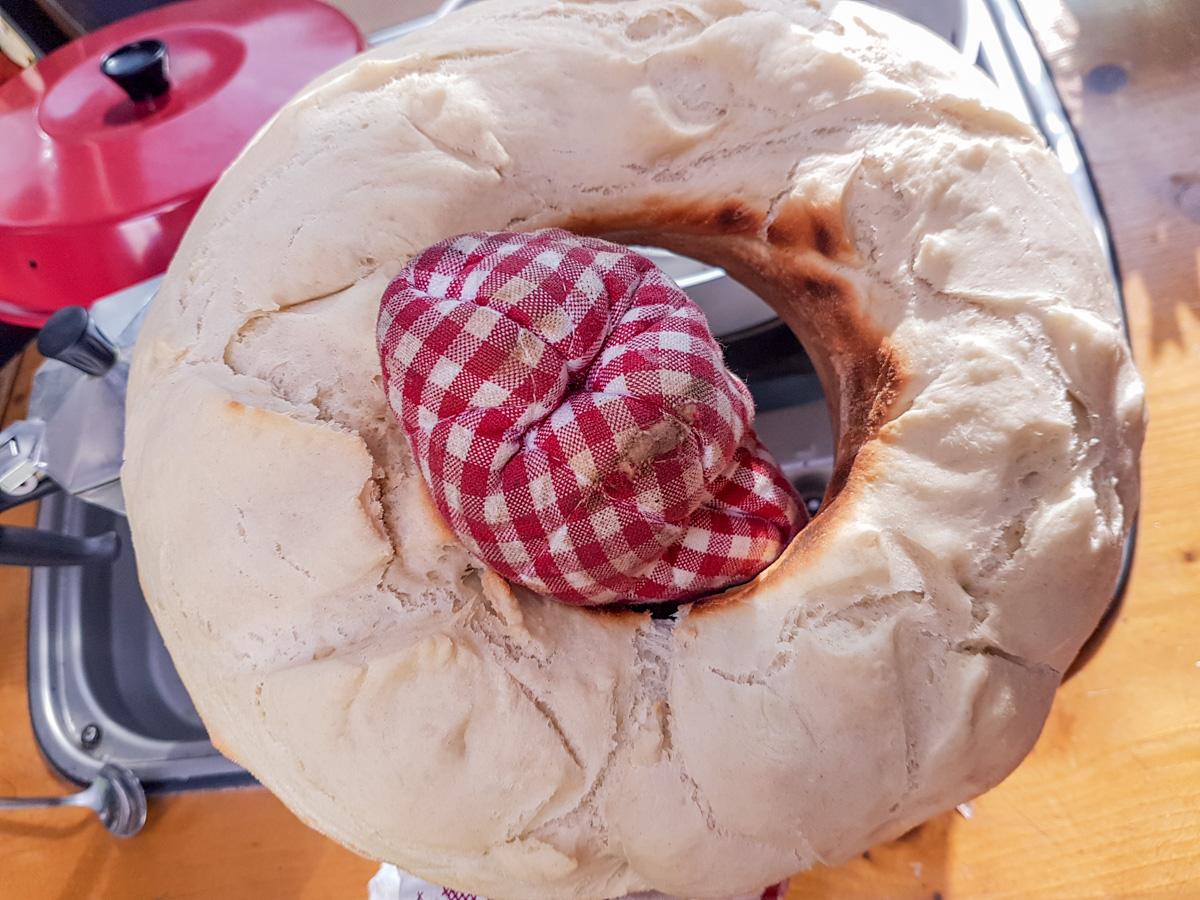 Braunes und knuspriges Brot backen aus dem Omnia - der Geheimtrick!