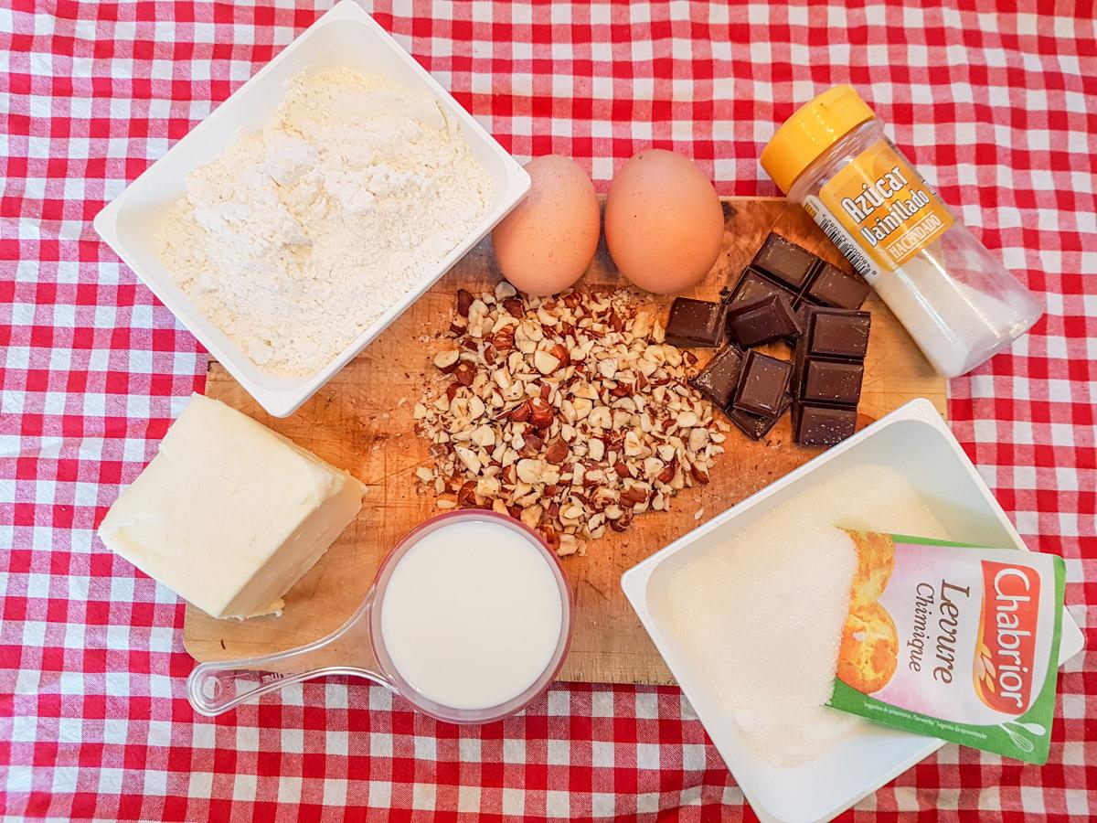 Omnia-Rezept: Schokoladenkuchen mit Haselnüssen