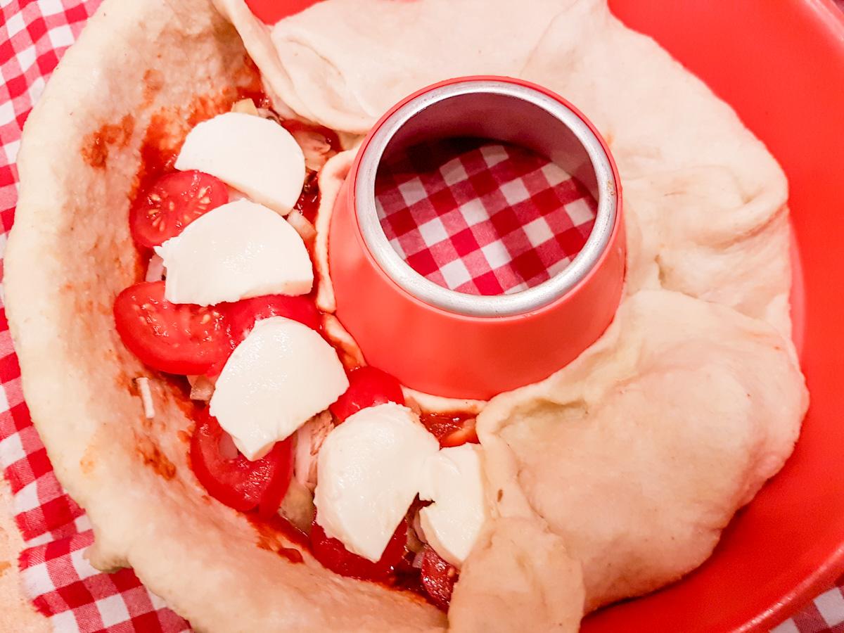 Pizza aus dem Omnia Rezept