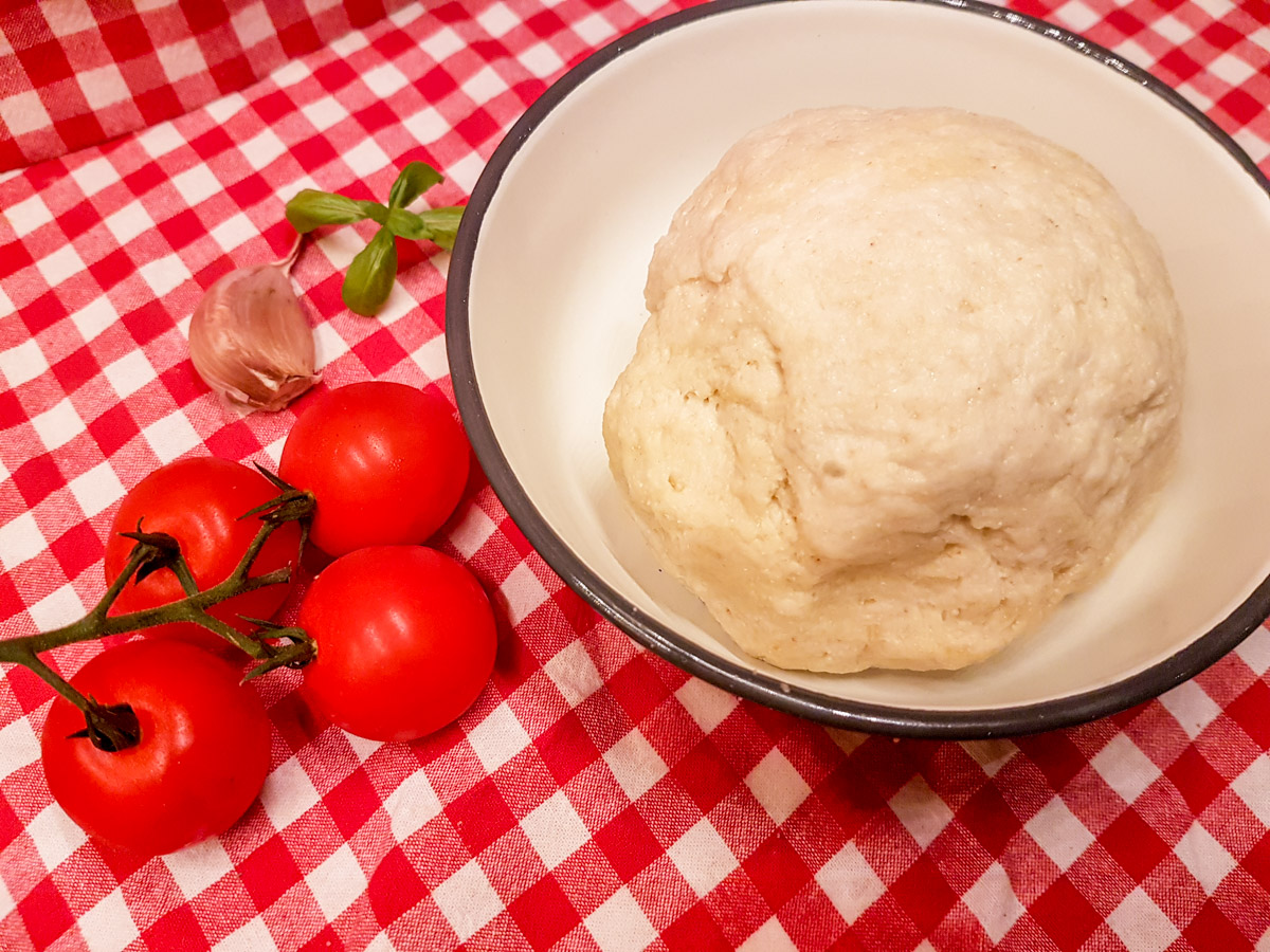 Calzone Pizza aus dem Omnia Rezept