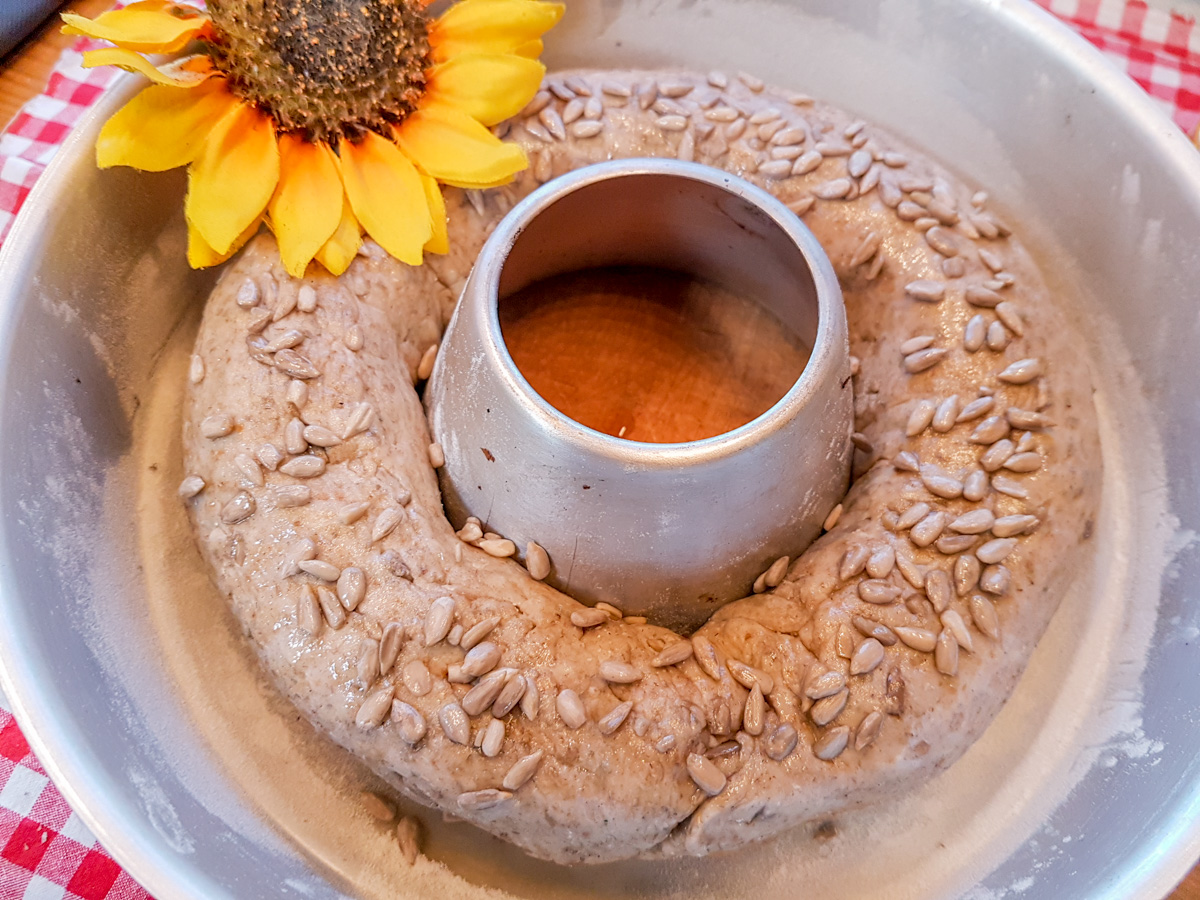 Sonnenblumenkerne-Brot Rezept aus dem Omnia