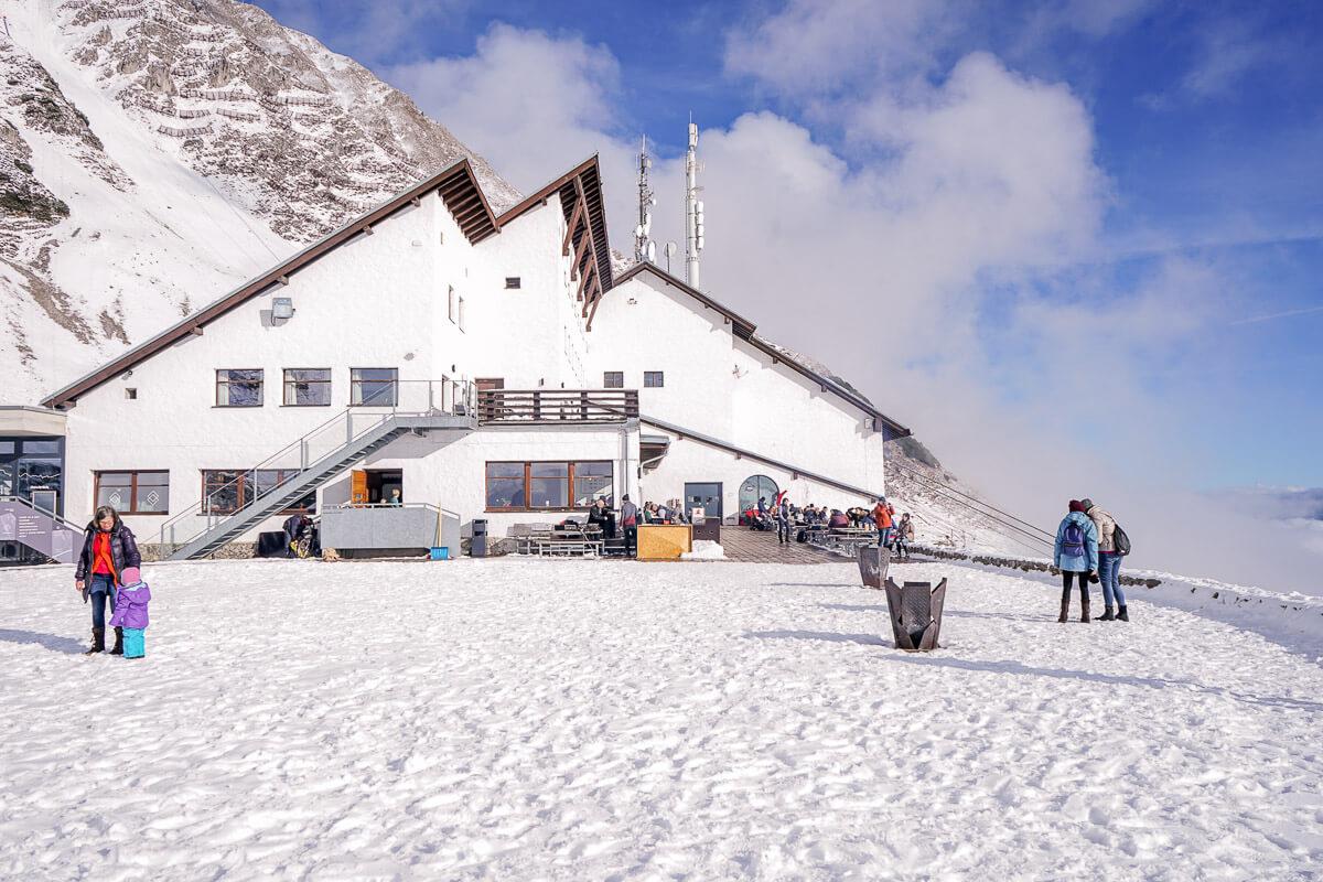 Nordkette Innsbruck Essen Skifahren