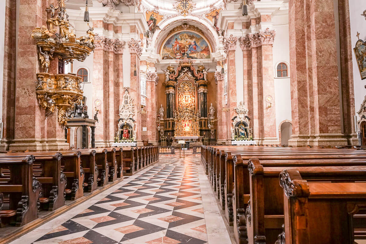 Kirchen von Innsbruck besichtigen