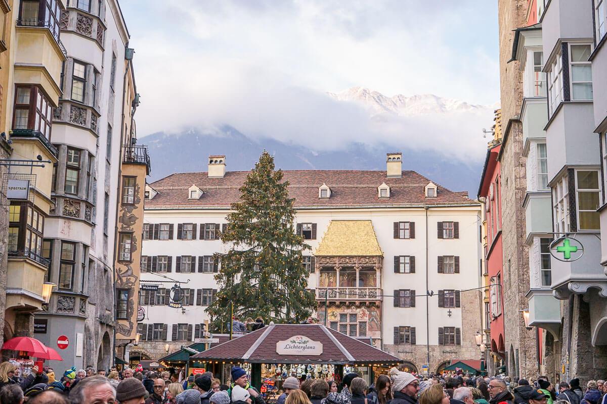Christkindlmarkt Innsbruck Altstadt Oeffnungszeiten