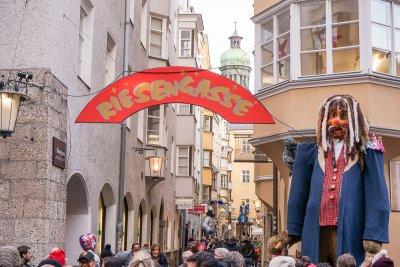 Riesengasse Christkindlmarkt Innsbruck Oeffnungszeiten Daten