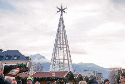 Swarovski Baum Christkindlmarkt Innsbruck - Öffnungszeiten