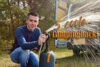 Hacks für Camping, Do it yourself Hängematte