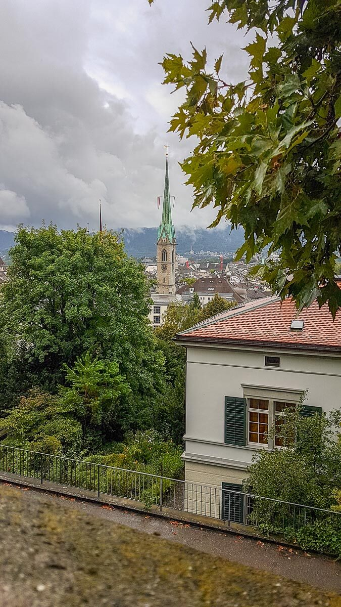 Aussicht über Zürich
