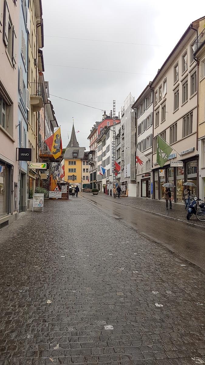 Altstadtgasse: Rennweg Zürich