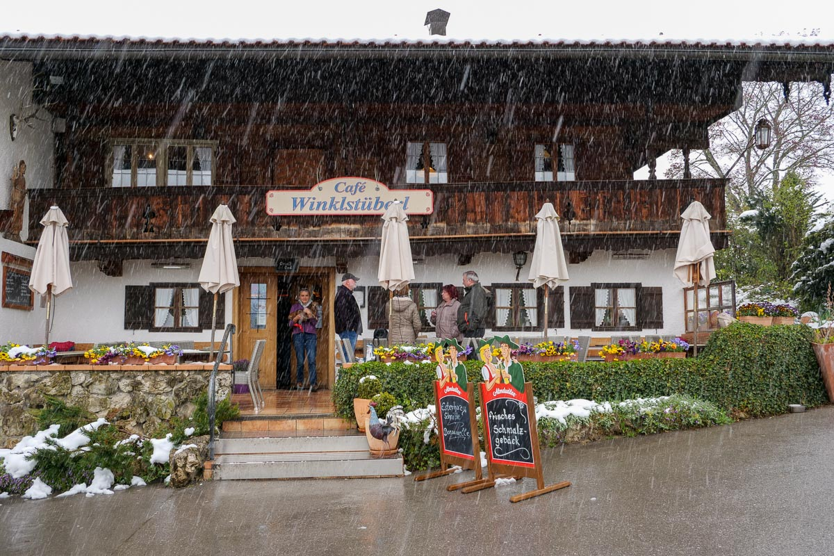 Cafe Winkelstüberl - Campingurlaub Chiemgau