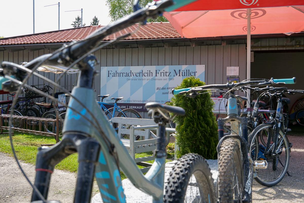 Fahrradverleih Fritz Müller am Chiemsee