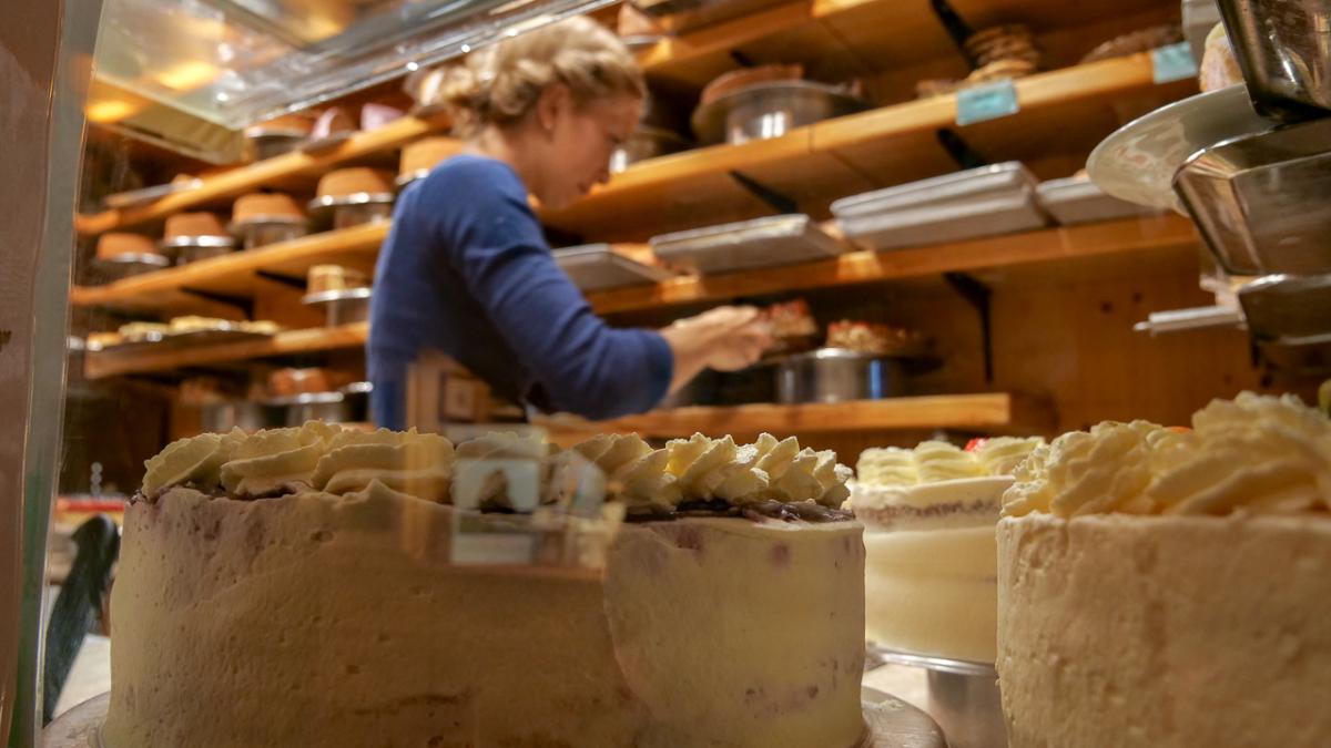 Kuchen und Torten Cafe Winkelstüberl Campingurlaub Deutschland