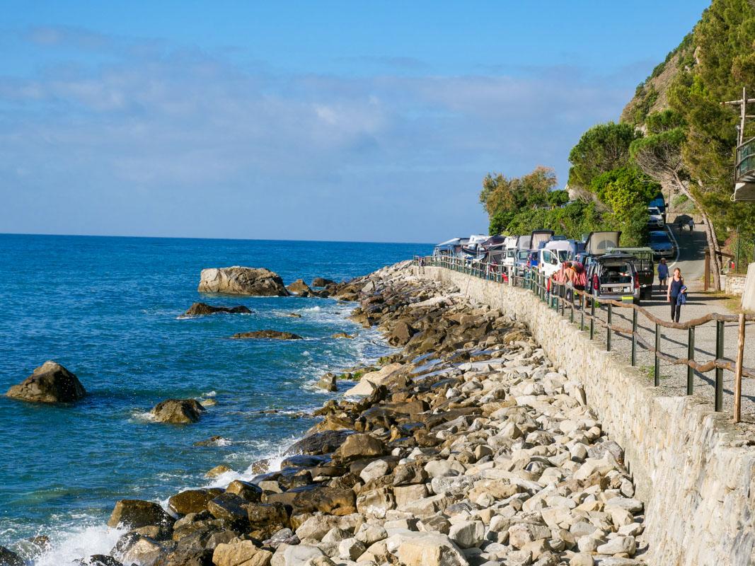 Campingplatz direkt am Meer - Cinque Terre