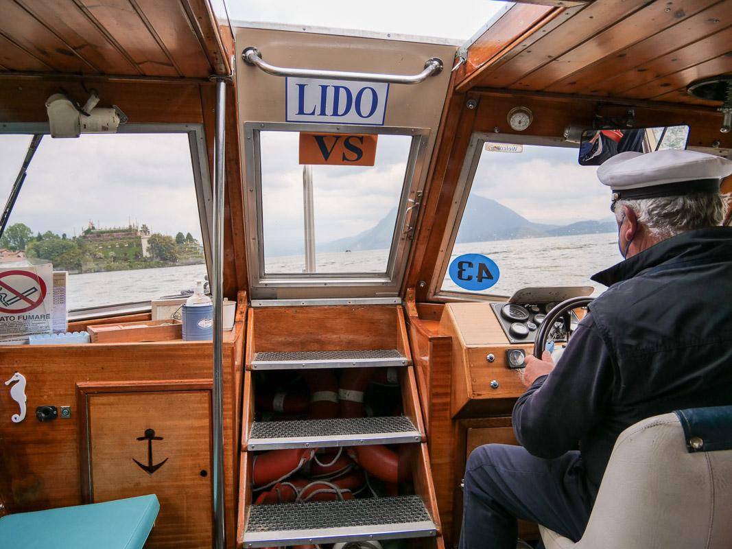 Taxi-Boot auf dem Lago Maggiore