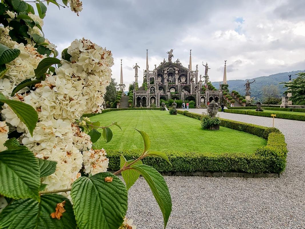 Gartenanlage Isola Bella