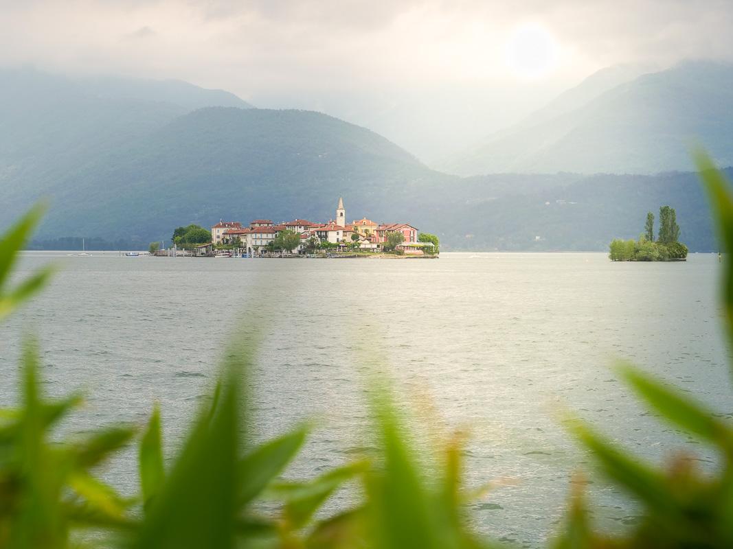 Insel im See - Campingurlaub Italien