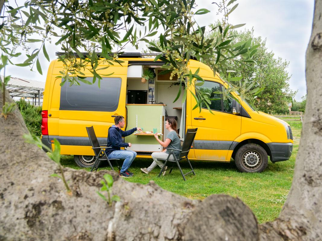 Agricamper Italia - Camping zwischen Olivenbäumen