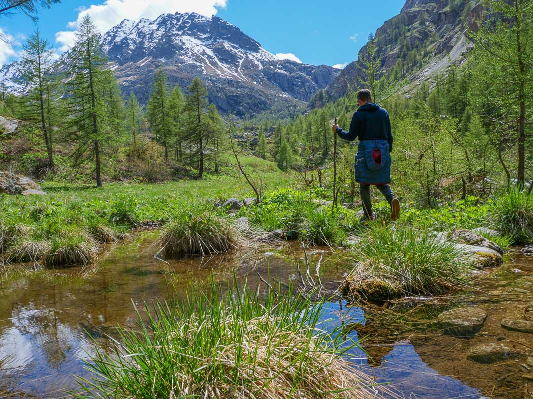 Wandern im Tal Valsavarenche